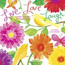 2016 Live Love Laugh Wall Calendar by Betsey Cavallo: Calendar Cover