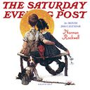 2016 Saturday Evening Post Mini Wall Calendar by Norman Rockwell: Calendar Cover