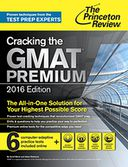 Cracking the GMAT Premium Edition with 6 Computer-Adaptive Practice Tests, 2016 by Princeton Review: NOOK Book Cover