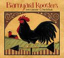 2016 Barnyard Roosters Deluxe Wall Calendar by Dan DiPaolo: Calendar Cover