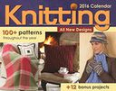 2016 Knitting Day-to-Day Calendar by Susan Ripley: Calendar Cover
