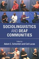 Sociolinguistics and Deaf Communities by Adam C. Schembri: NOOK Book Cover
