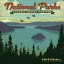 2016 National Parks Classic Posters Wall Calendar by Anderson Design Group: Calendar Cover