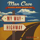 2016 Man Cave Wall Calendar by Anderson Design Group: Calendar Cover
