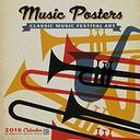 2016 Music Posters Wall Calendar by Anderson Design Group: Calendar Cover