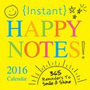 2016 Instant Happy Notes Box Calendar by Sourcebooks: Calendar Cover