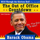 2016 Obama Out of Office Countdown Wall Calendar by Sourcebooks: Calendar Cover