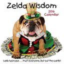 2016 Zelda Wisdom Wall Calendar by Carol Gardner: Calendar Cover