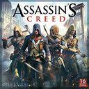 2016 Assassins Creed Wall Calendar by Ubisoft Entertainment: Calendar Cover