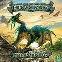 2016 Dragons by Ciruelo Wall Calendar by Cabral, Ciruelo: Calendar Cover