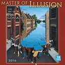 2016 Master of Illusion Wall Calendar by Gonsalves, Robert: Calendar Cover