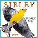 2016 Sibley by Sibley, David Allen: Calendar Cover