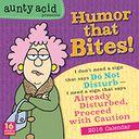 2016 Aunty Acid Presents Humor that Bites Wall Calendar by Backland Studio: Calendar Cover