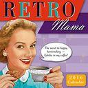 2016 Retro Mama Mini Wall Calendar by Alpert, Kathy / PostMark Press: Calendar Cover