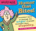 2016 Aunty Acid - Presents Humor that Bites! Box Daily Calendar by Backland Studio: Calendar Cover