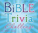 2016 Bible Trivia Box Daily Calendar by Casey, Wilson: Calendar Cover