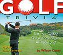2016 Golf Trivia Box Daily Calendar by Casey, Wilson: Calendar Cover