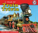2016 Year of Train Trivia Box Daily Calendar by B&O Railroad Museum: Calendar Cover