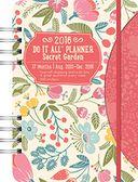 2016 Secret Garden Do It All Planner by Orange Circle Studio: Calendar Cover