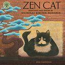 2016 Zen Cat Mni Wall Calendar by Nicholas Kirsten-Honshin: Calendar Cover