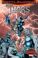 Thors by Marvel Comics: Book Cover