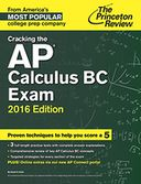 Cracking the AP Calculus BC Exam, 2016 Edition by Princeton Review: NOOK Book Cover