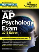 Cracking the AP Psychology Exam, 2016 Edition by Princeton Review: NOOK Book Cover