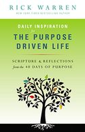 Daily Inspiration for the Purpose Driven Life by Rick Warren: NOOK Book Cover