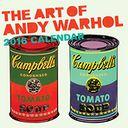 Art of Andy Warhol 2016 Wall Calendar by Andy Warhol Foundation: Calendar Cover