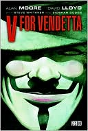 V for Vendetta (Graphic Novel) by Alan Moore: Book Cover