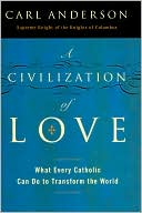 Civilization of Love by Carl Anderson: Book Cover