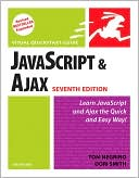 JavaScript and Ajax for the Web by Tom Negrino: Book Cover