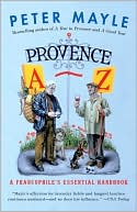 Provence A-Z by Peter Mayle: Book Cover