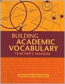 Building Academic Vocabulary by Robert J. Marzano: Book Cover