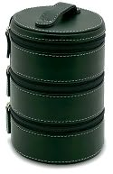 Black 3 Tier Round Accessory Case by Punctuate: Product Image