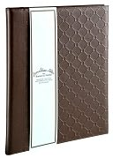 Jonathan Adler Bespoke Brown Bonded Leather Presentation Book by Barnes & Noble: Product Image