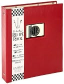Bon Appetit Recipe Book Red/Black 9x8 by Gibson, C. R. Company: Product Image