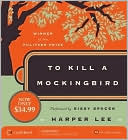 To Kill a Mockingbird by Harper Lee: CD Audiobook Cover