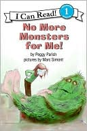 No More Monsters for Me! by Peggy Parish: Book Cover