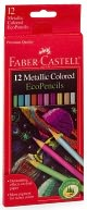 12 count metallic color pencils by A.W. Faber-Castell USA: Product Image