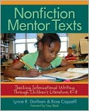 Nonfiction Mentor Texts by Lynne R. Dorfman: Book Cover