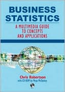 Business Statistics by Moya McCloskey: Book Cover