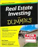 Real Estate Investing For Dummies by Eric Tyson: Book Cover