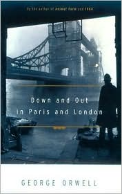 Down and out in Paris and London by George Orwell: Book Cover