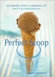 Perfect Scoop by David Lebovitz: Book Cover