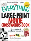 The Everything Large-Print Movie Crosswords Book by Charles Timmerman: Book Cover