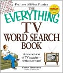 The Everything TV Word Search Book by Charles Timmerman: Book Cover