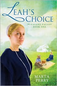 Leah's Choice (Pleasant Valley Series #1) by Marta Perry: Book Cover