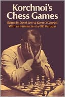 Korchnoi's Chess Games by David N. L. Levy: Book Cover