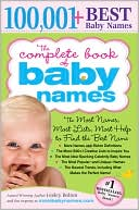 The Complete Book of Baby Names by Lesley Bolton: Book Cover